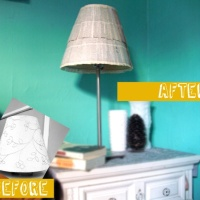 DIY: Lampshade Facelift