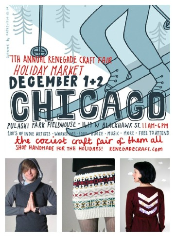 holiday renegade craft fair chicago handmade eco friendly clothing by pierogi picnic