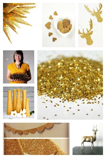 Glitter and Gold: Design Inspiration
