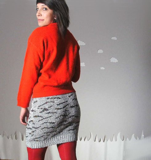 cosby sweater skirt from pierogi picnic