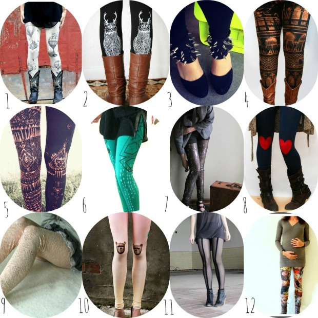 2013 Trends: Printed Leggings
