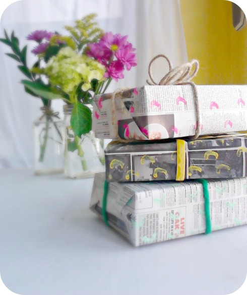 Greening Martha: DIY Eco-Chic Printed Paper