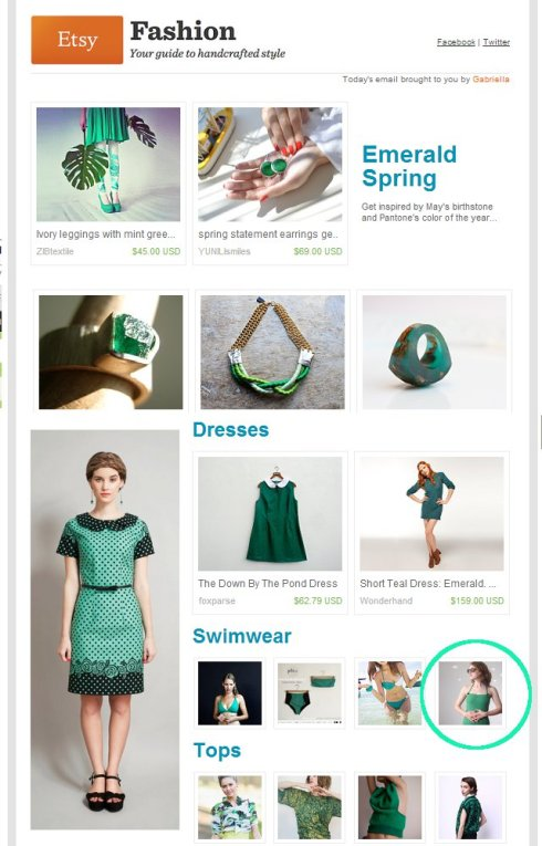 Pierogi Picnic: Etsy Finds Emerald Spring