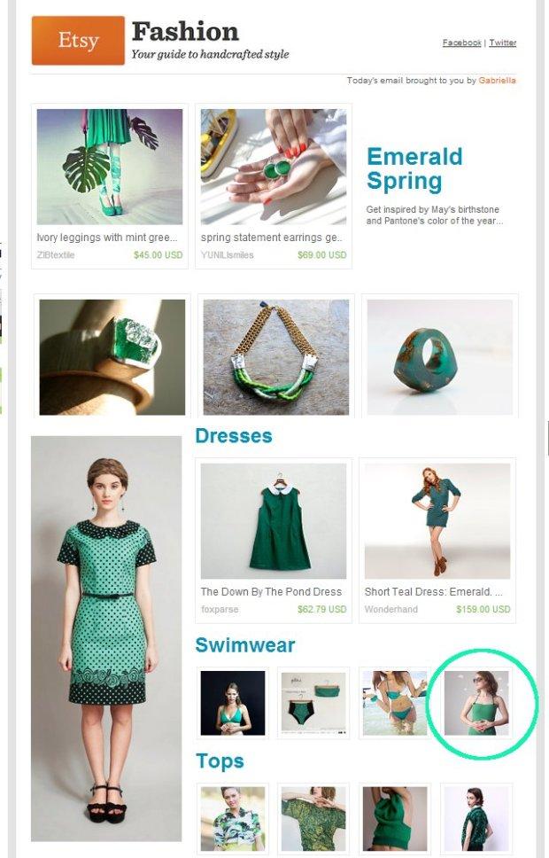 Pierogi Picnic: Etsy Finds Emerald Spring
