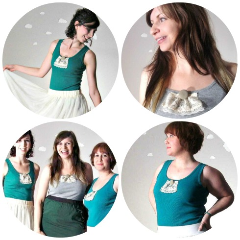 Pierogi Picnic: Handmade Eco-Friendly Summer Tanks