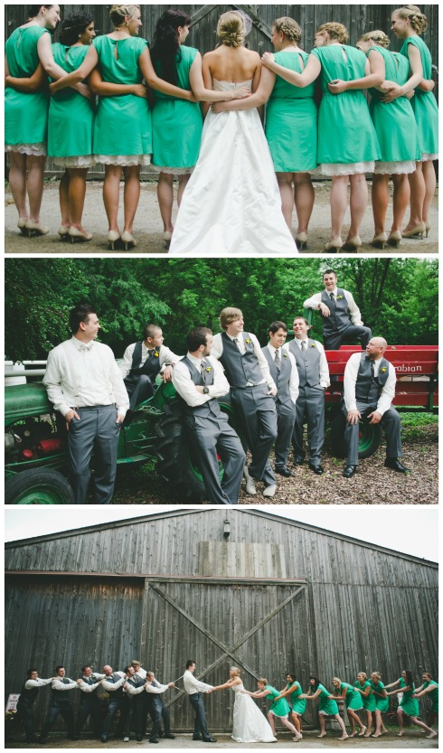 Philip & Katie's Do It Yourself Rustic Wedding