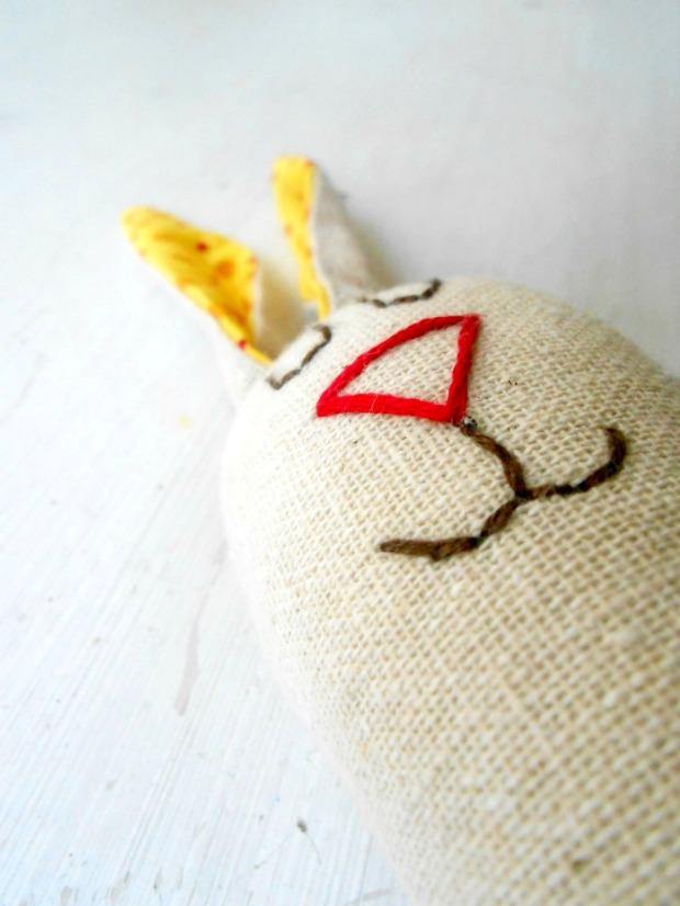 The Wind & the Sail happy rabbit baby rattle