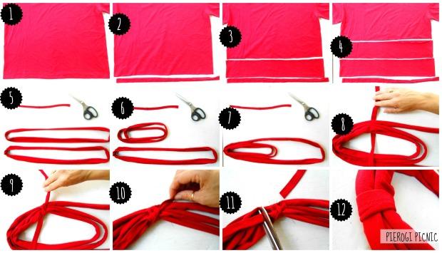 pierogi picnic infinity scarf demo