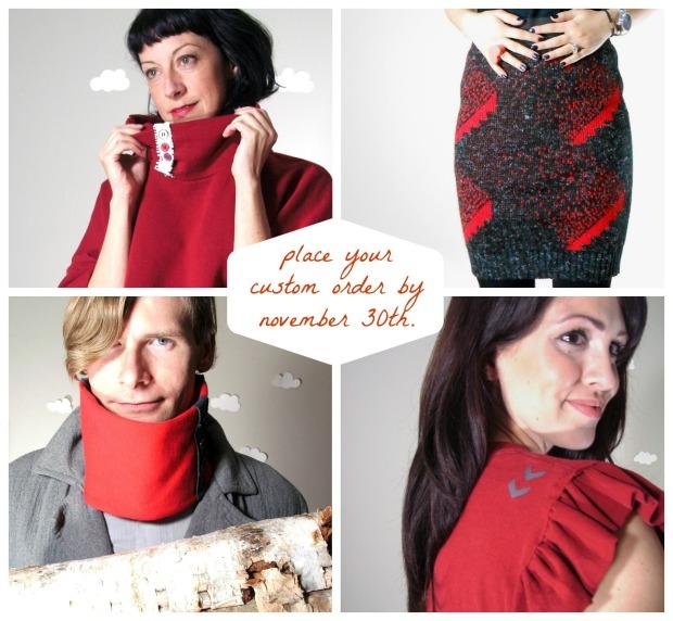Pierogi Picnic: Made to order eco clothing
