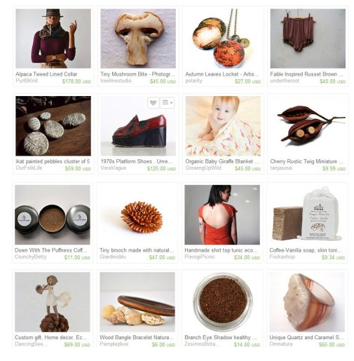 eco etsy: fall gift guide