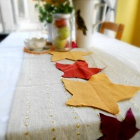 Greening Martha: Eco Chic Autumn Table Runner