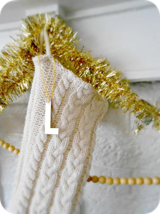 Handmade Sweater Knit Stocking
