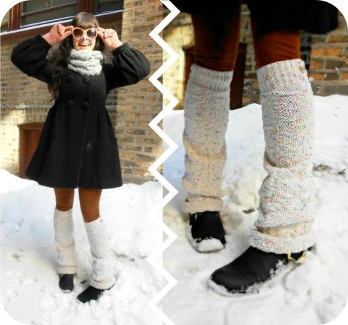 Pierogi Picnic: DIY Eco-Friendly Legwarmers