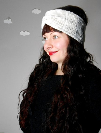 pierogi picnic: turban headband earwarmer