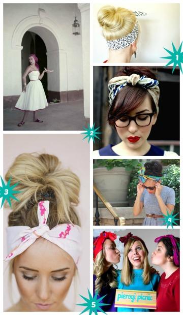 pierogi picnic: spring trends - headkerchiefs