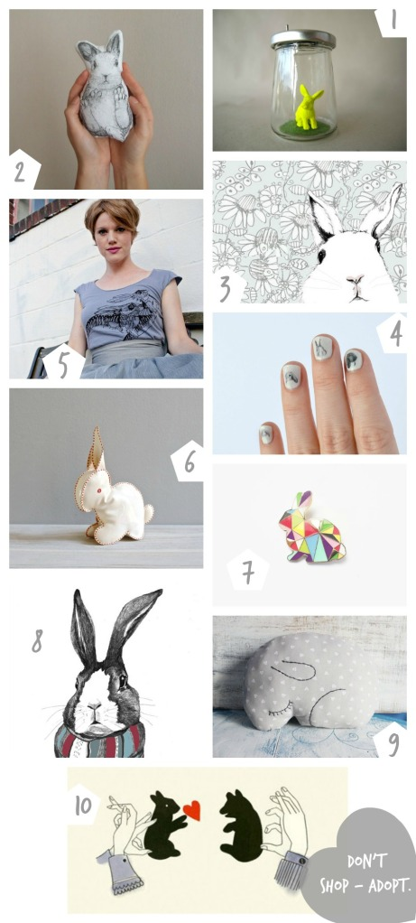 Pierogi Picnic: Bunny Finds on Etsy