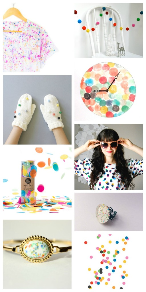 pierogi picnic trends: confetti pops of color