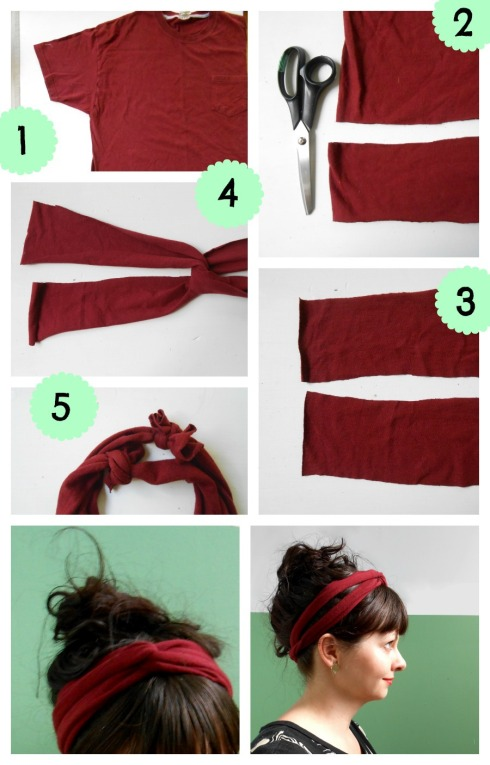 DIY: T-Shirt Turban from Pierogi PIcnic