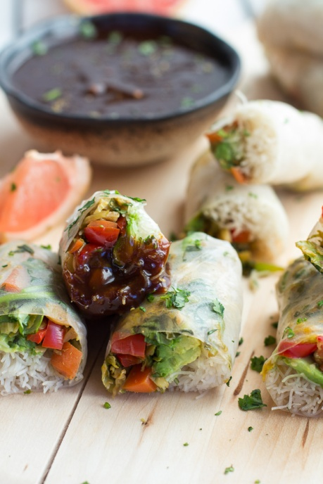 Brussels Sprout & Avocado Rolls