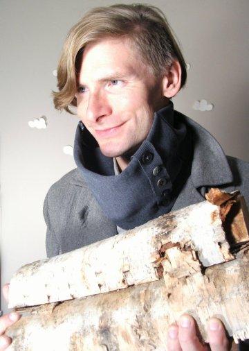 Pierogi Picnic: The Dodger eco-friendly cowl scarf