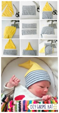 diy gnome hat from pierogi picnic