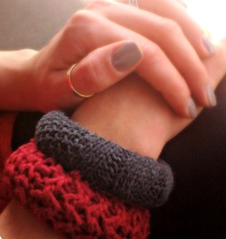 Recycled Sweater Bracelets