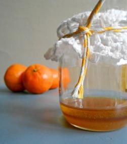 Homemade Clementine Facial Scrub