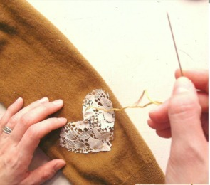 Mad About Mending Heart Patch